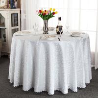 酒店桌布布艺圆形餐桌布饭店餐厅家用台布欧式方桌大圆桌桌布