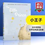 小王子 英文原版 The Little Prince 小说插画版 法国儿童文学名著经典童话故事 进口少儿英语学习读物