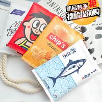 韩国文具笔盒男女生创意学生大容量韩版铅笔袋简约零食文具袋