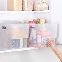 家居生活用品橱柜收纳箱抽屉式冰箱储物盒厨房食品水果塑料无盖收纳盒