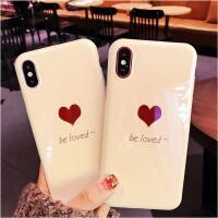 【包邮】苹果X手机壳iphoneX手机壳iPhone7保护套iPhone8手机壳简约8plus硅胶套苹果8软壳文艺7P