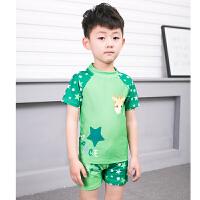 分体平角中大儿童男孩游泳衣小学生幼儿男童泳装2-3-5-6-8-10岁12