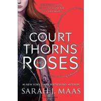 【全店300减100】英文原版 荆棘与玫瑰的法庭 Court of Thorns and Roses 奇幻冒险小说 青少