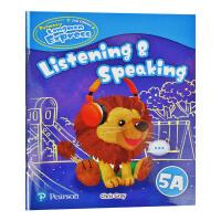 培生香港朗文小学英语教材 五年级上学期听说练习册 英文原版 Primary Longman Express 5A Lis