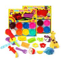 培培乐橡皮泥模具工具套装3D安全无毒彩泥不干手工面粉泥儿童玩具