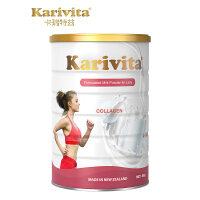 Karivita 新西兰进口胶原蛋白奶粉左旋肉碱女士成人高钙低脂奶粉 400g