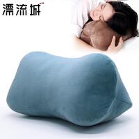 舒适午睡枕趴睡骨头枕沙发靠垫办公室靠枕护腰午休小枕头睡觉