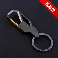 汽车钥匙扣创意男女士腰挂钥匙圈金属PU皮钥匙链小车金属小礼品 A202