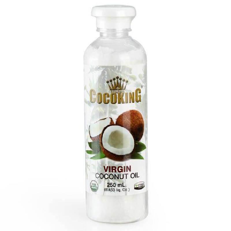 菲律宾进口Cocoking天然冷压初榨椰子油进口食用油250ml椰子油