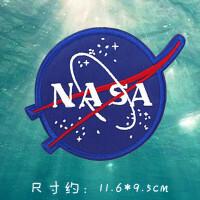 宇航宇宙飞船太空航行刺绣衣服装饰贴布贴花NASA火箭星球眼睛徽章