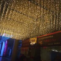 LED小彩灯闪灯串灯星星灯户外防水满天星节日装饰灯冰条窗帘灯串