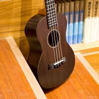 2018新款 21寸23寸26寸全玫瑰木尤克里里�蹩他���ukulele小吉他