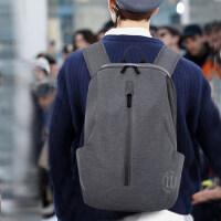 新款背包男士包双肩包男 韩版电脑包旅行包个性街头书包男时尚潮流双肩背包