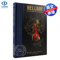 现货 地狱男爵:25年海报漫画艺术设计设定集画册 英文原版 黑马漫画 Hellboy: 25 Years of Cove