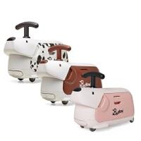 bty_traveller滑步车儿童玩具卡通动物旅行箱训练学步车