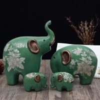 欧式招财大象摆件客厅卧室房间温馨摆设品个性礼物家居工艺装饰品