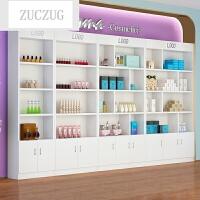 ZUCZUG精品展柜陈列柜美容美甲产品展示柜化妆品样品展示架超市货架货柜