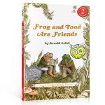 汪培�E推荐第三阶段英文原版An I Can Read, Level 2 Frog and Toad are Frien