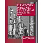 【预订】Elementary Principles of Chemical Processes, 3rd Editio