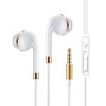 【包邮+可礼品卡支付】LUOBR 洛倍尔 手机耳机 入耳耳机 耳塞式 有线女生耳麦男 金/银色L92