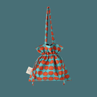 唐糖包袋/女包新款百搭学生书包帆布包抽绳帆布袋单肩包包