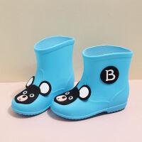2018�和�雨鞋滑男童女童雨靴公主小童小孩����四季幼�核�鞋中童大童
