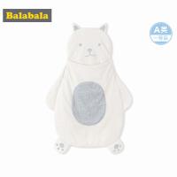 巴拉巴拉婴儿用品保暖睡袋2018新款宝宝防踢被新生儿卡通韩版男女
