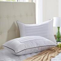 荞麦两用枕头决明子枕芯薰衣草学生单人颈椎枕一对拍2个 白色 荞麦枕