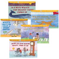 妙想科学系列5册套装 英文原版 儿童英语绘本 Wells of Knowledge Science Series 你能数到10的100次方吗 原版科学知识图画故事书