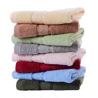 方巾洗脸家用加厚素色2条装男士毛巾洗脸巾