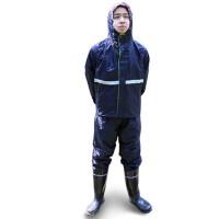 户外分体成人雨衣 电动车摩托车单人男防水雨衣 雨裤套装