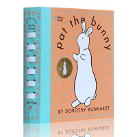 英文原版 Pat the Bunny 拍拍小兔子触摸书盒装婴幼香味玩具书 亲子阅读绘本 1-3岁入门学习英语