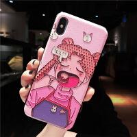 美少女战士xr水冰月iphonex手机壳浮雕xs软壳max苹果x保护套8plus全包7卡通6splu iPhoneXR