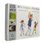 英文原版绘本 We're Going on a Bear hunt 10本书+10DVD 4-8岁 含我们一起去猎熊