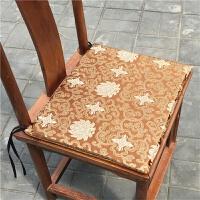 中式红木沙发 坐垫古典红木椅子圈椅官帽椅坐垫实木家具餐桌椅太师椅定制