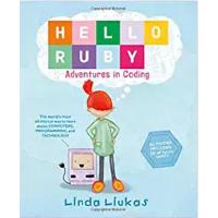 【现货】英文原版  你好,露比:编程之旅(儿童编程大冒险) Hello Ruby: Adventures in Coding  精装 2017年度STEM图书 4-8岁适读 美国工程教育学会等机构推荐