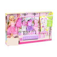 ?芭比娃娃设计搭配礼盒套装公主女孩玩具礼物别墅城堡? 如图 官网标配