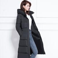 棉衣女冬季新款羽绒中长款过膝棉袄加厚韩版外套潮