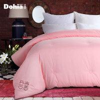 多喜爱家纺新品纯棉面料提花冬被床上用品保暖被芯被子十里红妆提花喜被