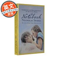 恋恋记事本 英文原版 The Notebook 同名电影小说 进口书 Nicholas Sparks 尼古拉斯斯帕克思