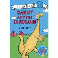 英文绘本 原版进口Danny and the Dinosaur 50th Anniversary 丹尼和恐龙