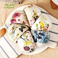爱屋格林加深加厚印花陶瓷碗 量贩4件装面碗汤碗 景德镇水果碗