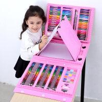 小学生画画套装儿童绘画笔工具水彩笔幼儿园蜡笔美术学习用品礼盒
