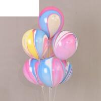 结婚庆用品装饰 生日派对创意婚房彩云云彩汽球 10寸乳胶气球