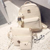 pu女士包包双肩包时尚休闲韩版潮旅行背包学院风书包