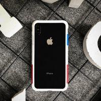 太乐芬 iPhone XS MAX手机壳边框 iPhone X 苹果XR防摔硅胶男女潮 iPhoneXR白OG 6.1