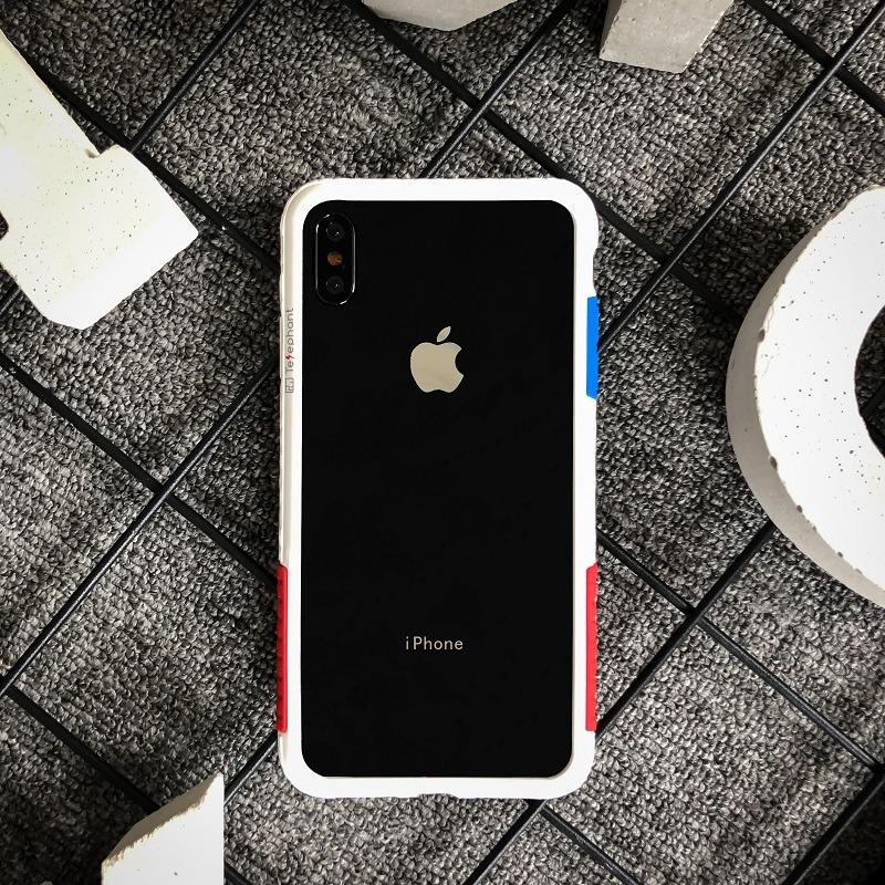 太乐芬 iPhone XS MAX手机壳边框 iPhone X 苹果XR防摔硅胶男女潮 iPhoneXR白OG 6.1寸现货