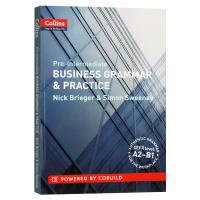 柯林斯商务英语 语法与实践 初中级 英文原版 Business Grammar & Practice A2-B1 英语