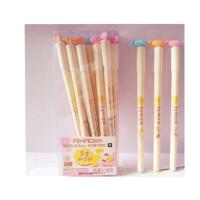 爱好8090 黄金鲫鱼饼中性笔 0.5MM全针管水笔 可爱小鱼水笔