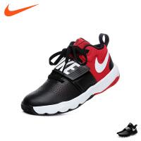 耐克nike童鞋17新款男童篮球鞋儿童运动鞋耐磨防滑户外休闲鞋 (11-15岁可选) 881941 004